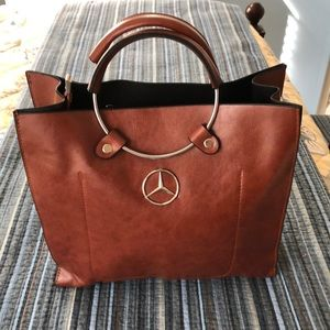 Handbags - Vegan leather bag Mercedes Benz